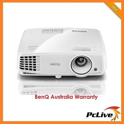 NEW BenQ MW529 13000:1 DLP Projector 3300 Lumens 3D HD HDMI Speaker SmartEco