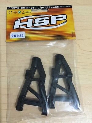 06052 HSP front lower Suspension Arm For RC 1/10 Model Car Spare Parts 6052