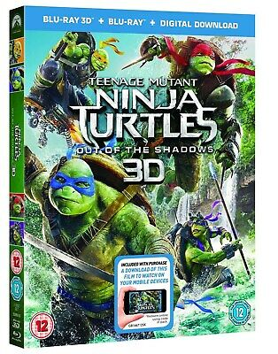 Teenage Mutant Ninja Turtles: Out of the Shadows (3D Edition with 2D Edition +