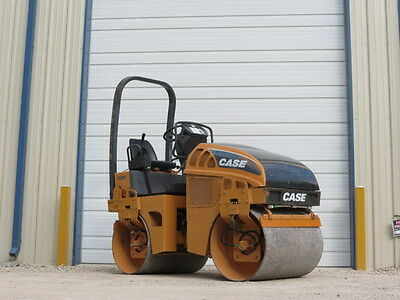 2006 Case Dv201 Compactor Vibratory Roller Double Smooth Drum Tandem Diesel