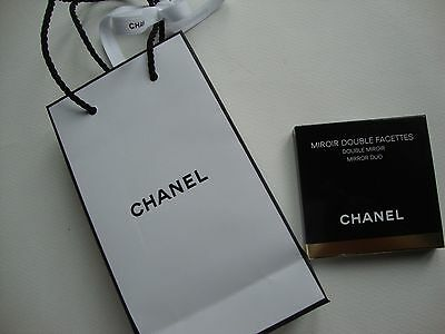 CHANEL Compact Duo Makeup Mirror BNIB Genuine & Chanel Gift Bag - Authentic
