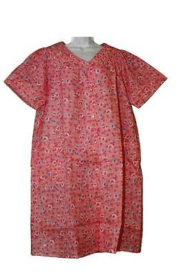 Women Plus Size Lightweight Floral Duster Snap Front w Side Pockets (very  thin) b36d44645