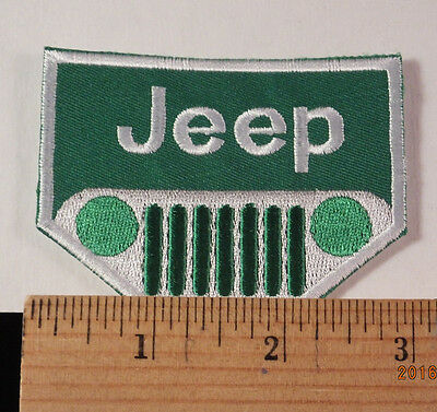 Jeep Patch  Iron-On Embroidered Patch