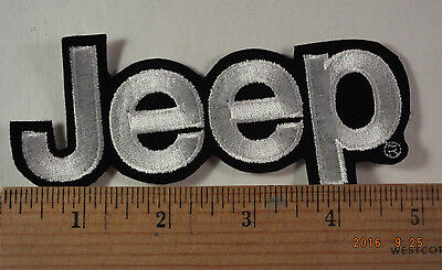 """Jeep Patch  Sew-On Embroidered Patch  5"""""""