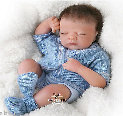 Ashton Drake 'Little Charlie' Baby Doll With micro-rooted hair New