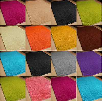 Small Large Size Thick Non Shed Plain Pile Soft Shaggy Rug Modern Carpet Rugs