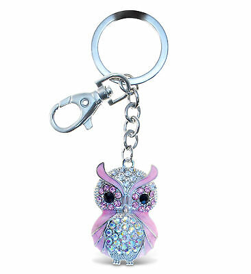 Sparkling Charms - Pink Owl