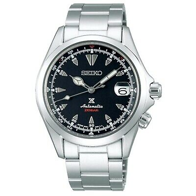 SEIKO SARB017 Mechanical Alpinist Analog Automatic Self Wind Men's Leather Watch