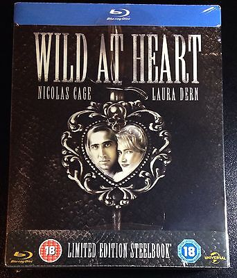WILD AT HEART Blu-Ray SteelBook Zavvi UK Exclusive Ultra Ltd Ed 1/2500 New Rare!