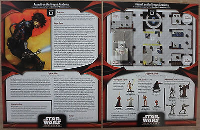 Star Wars Miniatures Senario and Map Accessories Pack