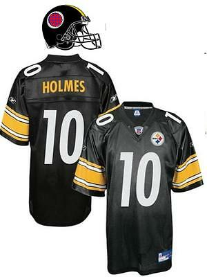 Maillot NFL Foot US STEELERS N°10 HOLMES Taille L (US) -  XL (fr)