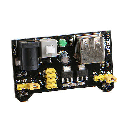 New Bread Board Dedicated Power Supply Module Compatible 5V 3.3V  For Arduino