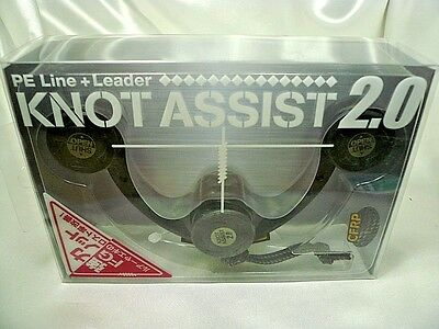Daiichi Seiko Knot Assist 2.0 Black for FG Braided Line to Leader Connection F/S