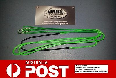 Recurve Archery Bow String (GREEN 8125G Material) Australian Made. All Lengths