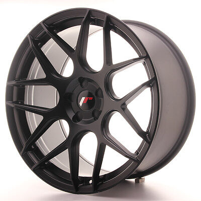 Llanta Japan Racing Jr18 20X10 Et20-45 5H Blank Matt Bla