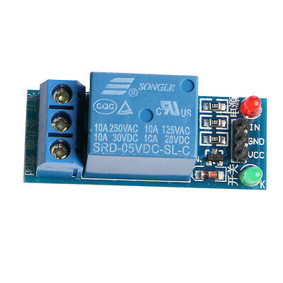1 Channel Low Level Trigger Relay Module Interface Board Shield For Arduino New