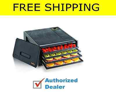 Excalibur 4 Economy Dehydrator 2400 Tray Black New Food Products,Free Shipping