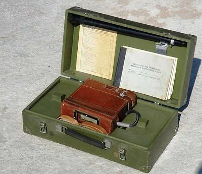 Vintage Military RADIATION METER DP-66