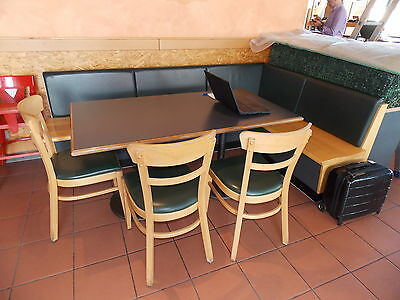 eiscafe restauranteinrichtung gastronomie bistro eisdiele komplett inkl ger ten eur. Black Bedroom Furniture Sets. Home Design Ideas