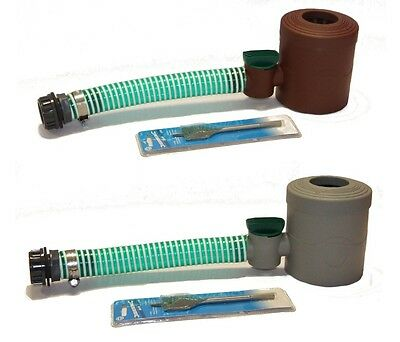 Rain Collector downpipe water butt connector diverter self cleaning filter  -NEW