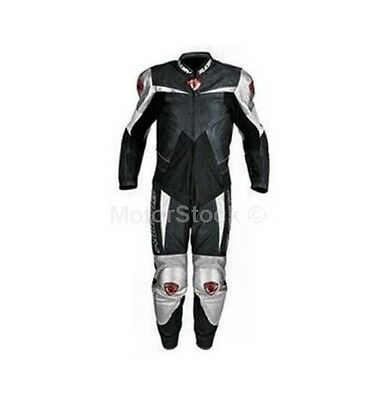 Tuta Pelle Suomy Intera Supermotard Xfdp03 Nero Fa