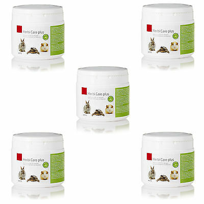 5 x Herbicide Care plus 200g Replacement food Rodents, Rabbit, Reptiles