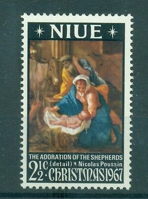 NOEL- CHRISTMAS NIUE 1967 Art