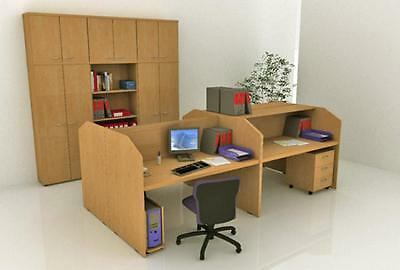 Workstation desk - Call Center Eco Cm. 125X80X119H Furnishing Accessories