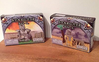 Stargate Sg-1 Best-Lock Figure Jaffa And Supersoldier Factory Sealed