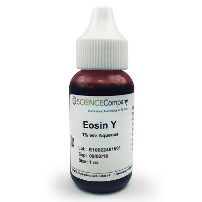 Wholesale! NC-13178  Eosin Y Stain, 30mL (1 oz bottle) Lot of 24. $46.80