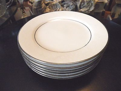 Set of 6 Noritake Bread and Butter Plates THULE Pattern MINT (2 sets available)