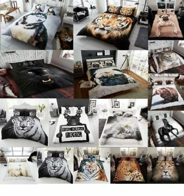 3D Animal Luxurious Faux Fur Throws Super Soft Warm Cosy Sofa & Bed Blankets GC