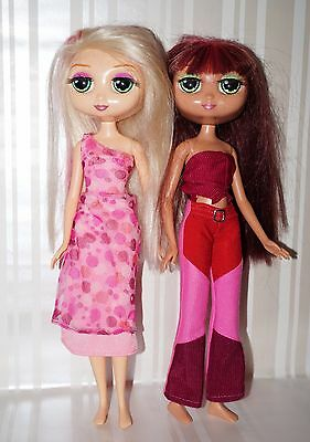 MATTEL 2002 DIVA STARZ Interactive Doll with Original Outfit - lot of 2
