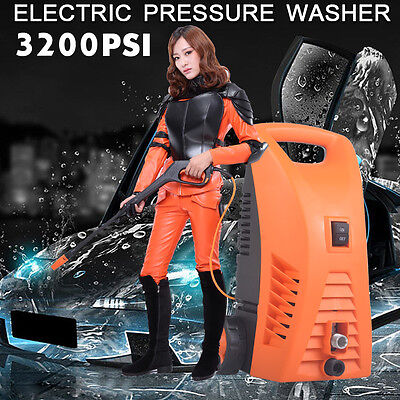 3200PSI Electric High Pressure Washer Water Cleaner Spray Gun Cleaning Gurney AU