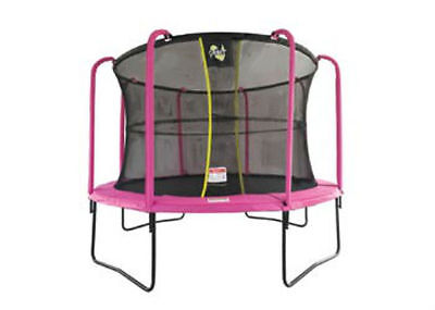 Orbit - Ultima 3.6 metre dia (12ft) Pink Trampoline with Enclosure BO1011