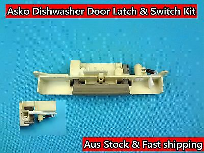 Asko Dishwasher Spare Parts Door Latch & Switch Kit Replacement (D131) Used