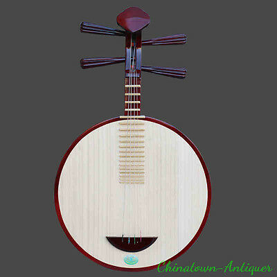 Yueqin - Chamagudao Hardwooden Chinese Moon Lute Banjo Musical Instrument #3728