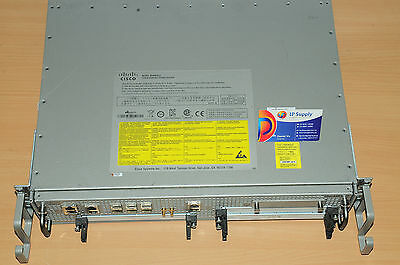 Cisco ASR1002-X Chassis, AIS Loaded 6 built-in GE, Dual AC Power 6MthWty TaxInv
