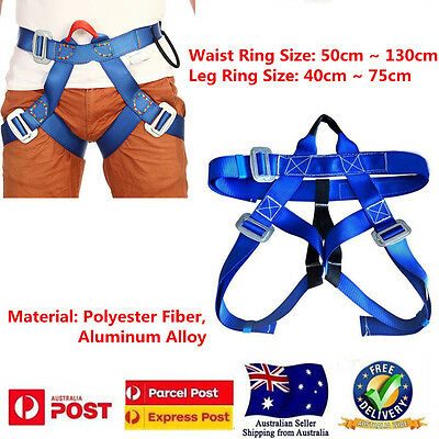 Rock Climbing Safe Harness Belt for Tree Carving Arborist Rappelling Fall Arrest