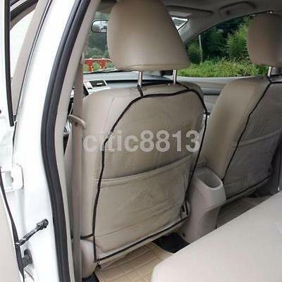 Car Seat Back Cover kicks Transparent Protector Cover Cushion Clean Practical US