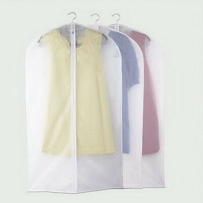 1/5/10pcs Clothes Dress Protector Dustproof Cover Garment Suit Bag BRAND LOT OC