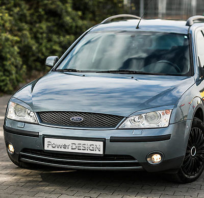 Eyebrows for FORD MONDEO MK3 2000-2007  headlight eyelids lids ABS Plastic