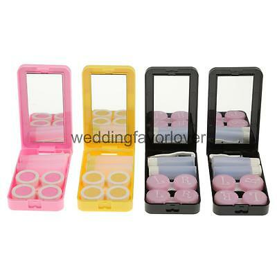 4 Color Pocket Size Contact Lens Holder ContainerTravel Portable Kit Holder