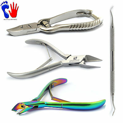 Pedicure Chiropody Clippers-Ingrown Toenails Cutter Nipper Podiatry Instruments