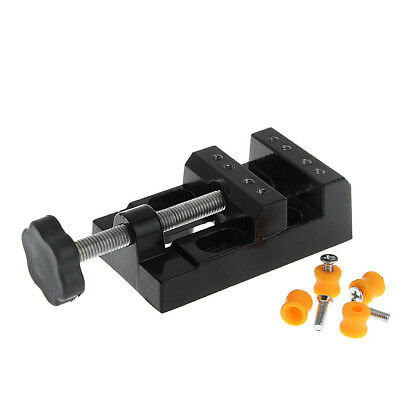 Mini Carving Bench Clamp Drill Press Vice Hand Micro Clip Flat DIY Tools New