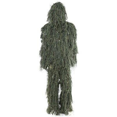 Camouflage Jungle Hunting Ghillie Suit Sets Woodland Sniper Birdwatching Poncho