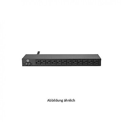 HP 1.9kVA 16A 120V 12 Outlet NA/JP PDU H5M54A 723220-001