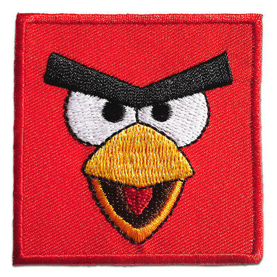 Ecusson - Angry Birds Comic enfants – rouge – 5,8x5,8cm - patches