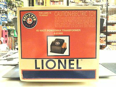 Lionel 40-Watt Powermax Transformer 6-81495