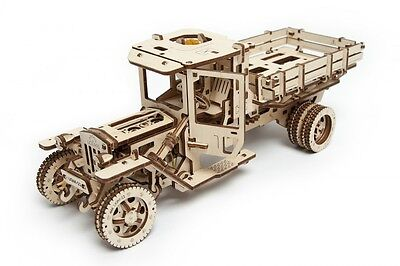 UGears NEW MODEL mechanical wooden 3D puzzle - Truck UGM-11